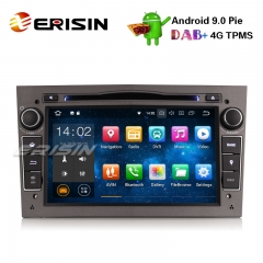 "Erisin ES4860PG 7"" Android 9.0 Car Stereo 4G DAB+ GPS DVR SWC for Vauxhall Opel Corsa Zafira Astra Signum Meriva"