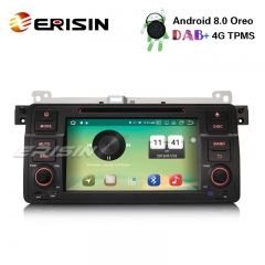 "Erisin ES7346B 7"" Android 8.0 Radio Car Stereo DAB+ GPS Bluetooth BMW 3er E46 M3 320 Rover 75 MG ZT"