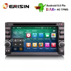 "Erisin ES7936U 6.2"" 2 Din Nissan/Universal Android 9.0 Car Stereo GPS WiFi DAB+ DVR OBD CD DTV-IN BT"