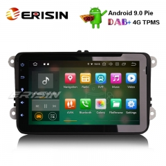 "Erisin ES7925V 8"" Android 9.0 Car Stereo GPS CD OPS SD For VW Golf Tiguan Jetta Eos Polo Seat Leon"