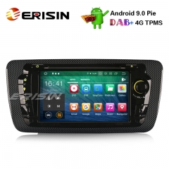 "Erisin ES7922S 7"" Android 9.0 Autoradio GPS Wifi DAB+ Canbus SD BT OBD2 DVB-T2 CD DVD for SEAT IBIZA"