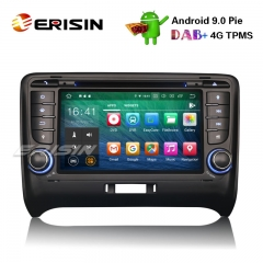 "Erisin ES7979T 7"" Android 9.0 Car Stereo DAB+ GPS DVR DTV-IN WiFi 4G OBD2 BT TPMS For AUDI TT MK2"