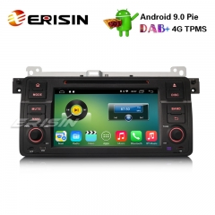 "Erisin ES3546B 7"" Android 9.0 Car Stereo GPS DAB+ DVR TPMS CD BMW 3er E46 318 320 M3 Rover75 MG ZT"