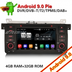 Erisin ES7746B DAB+Android 9.0 PX5 BMW E46 Car Stereo CD 3er 318 320 325 M3 MG Rover BT SD Wifi TPMS OBD 4G