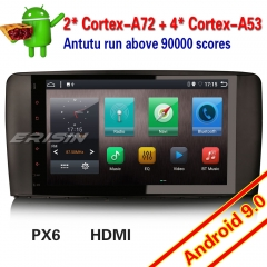 "Erisin ES6285R GPS PX6 Android 9.0 DAB+Mercedes Benz R Class W251 Car Stereo HDMI OBD Bluetooth Sat Navi 9"" DVR Wifi Mirror"