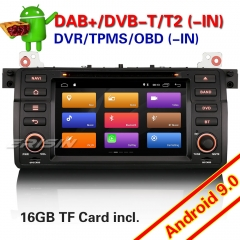 "Erisin ES3046B DSP BMW E46 Car DVD Player Stereo DAB+Android 9.0 3er 318 320 325 M3 MG ZT Rover 75 7"" OBD II TPMS DVR CAM Mirror Link Split Screen 4G"