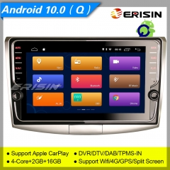 "Erisin ES3125P For VW Passat B6/B7/CC 2008-2015 GPS Car Stereo Android 10.0  9"" DAB+ 4G CarPlay TPMS DVR 7"" DSP Navi DVR TPMS OBDII Mirror Link Split"