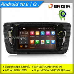 Android 10.0 VW Seat Ibiza 2009-2013 Car Stereo ES5122S Car DVD Player Radio DAB+ OBD DVR BT TPMS CarPlay SatNavi 4G