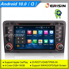 "Android 10.0 AUDI A3 S3 RS3 RNSE-PU Car DVD Player Car Stereo ES5147A 7"" Car Radio Sat Navi DAB+ OBD DVR BT TPMS CarPlay 4G"