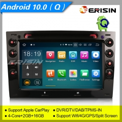"Android 10.0 Renault Megane 2003-2010 Car DVD Player Car Stereo ES5113M 7"" Car Radio Sat Navi DAB+ OBD DVR BT TPMS CarPlay 4G"