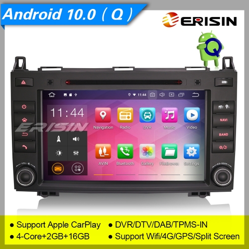 "2+16GB PX30 Android 10.0 Mercedes Benz A B Class W169 W245 W639 Viano Vito Sprinter VW Crafter Car Stereo DVR DAB+ Car Stereo 8"" Erisin ES5121B"